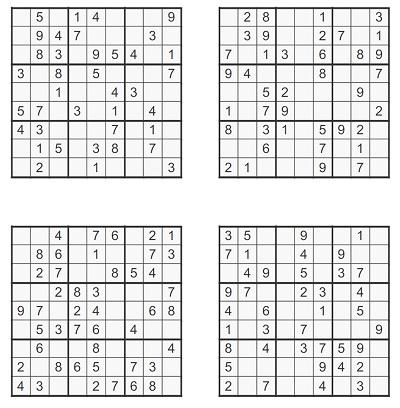 Orta Seviye Sudoku 3