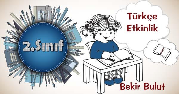 2.Sınıf Türkçe Noktalama İşaretleri Kazanım Testi