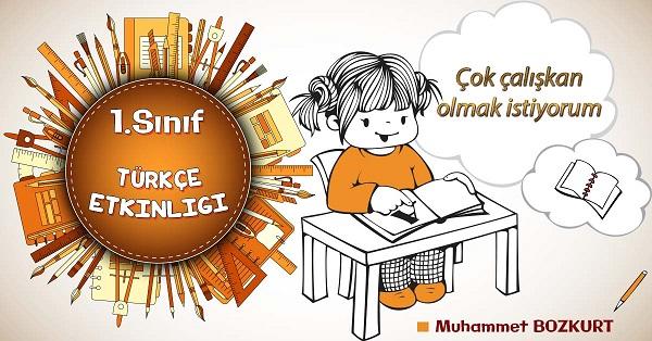 1.Sınıf Türkçe Okuma Anlama Etkinliği 10