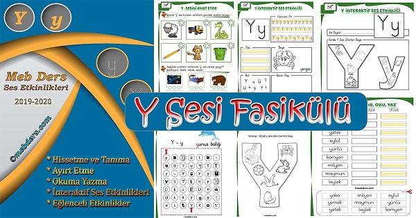 1.Sınıf İlkokuma Y Sesi Fasikülü