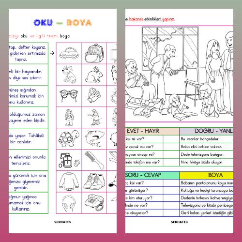 Oku - Anla - Boya Etkinliği - 1