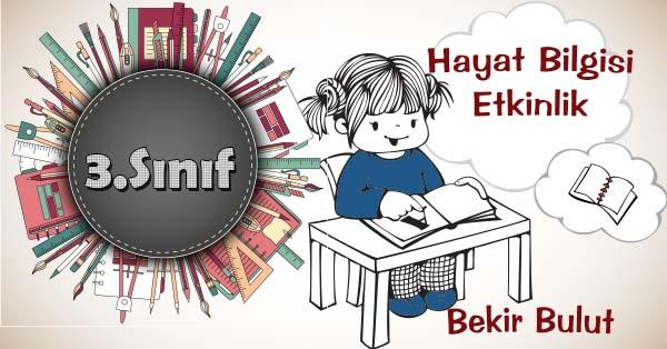 3.Sınıf Hayat Bilgisi Kişisel Bakımızı Yapıyoruz Kazanım Testi