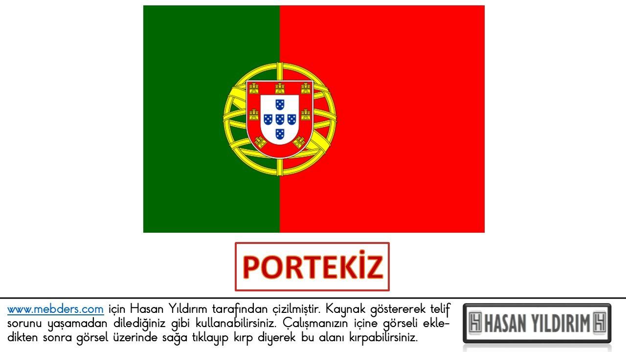 Portekiz Bayrağı PNG