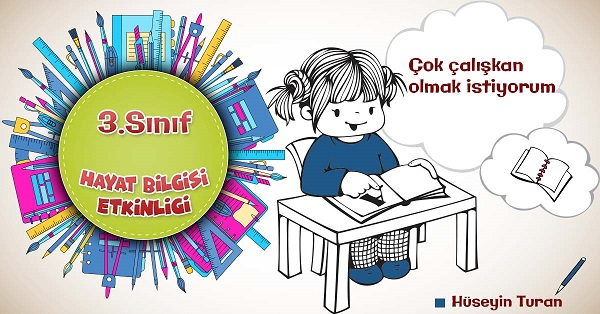3.Sınıf Hayat Bilgisi Okulumdaki Yardımlaşma Etkinliklerine Katılırım Kazanım Testi