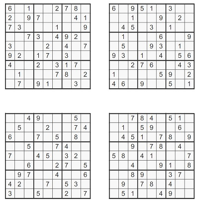 Orta Seviye Sudoku 6