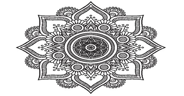 Mandala Boyama Etkinliği