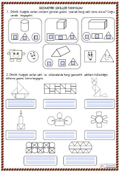 2.Sınıf Matematik Geometirk Şekiller 4