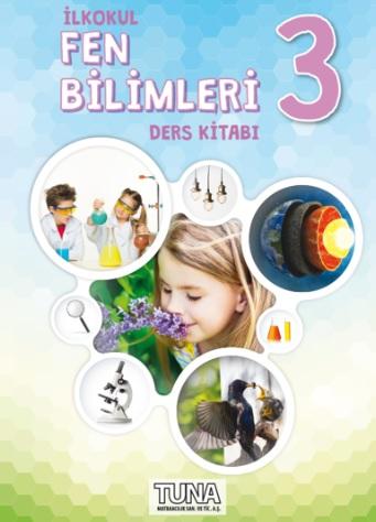 2019-2020 Yılı 3.Sınıf Fen Bilimleri Ders Kitabı (Tuna) pdf indir