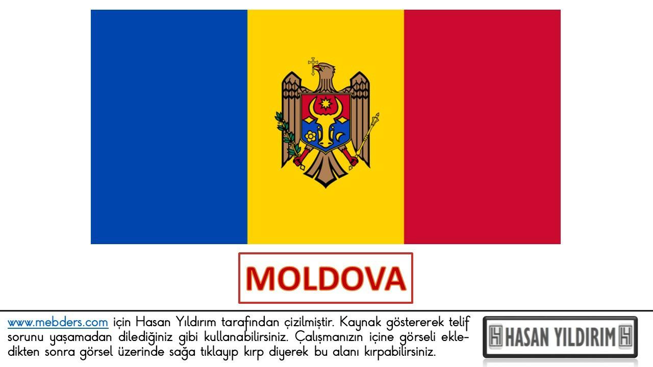 Moldova Bayrağı PNG
