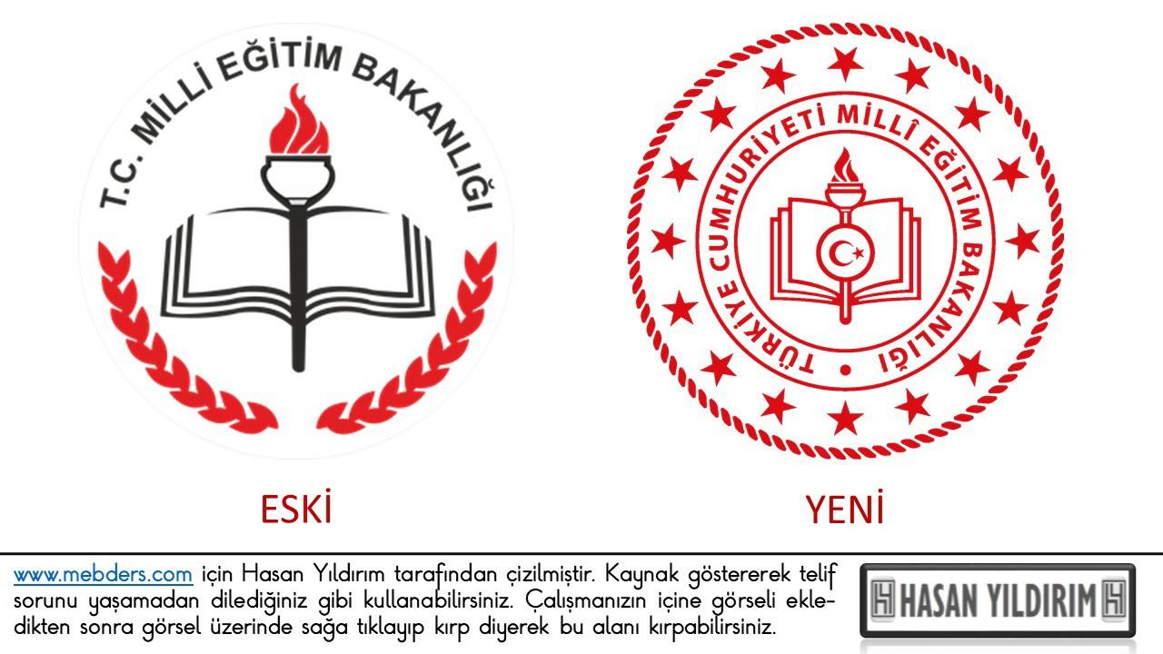 MEB Logo Eski Yeni PNG