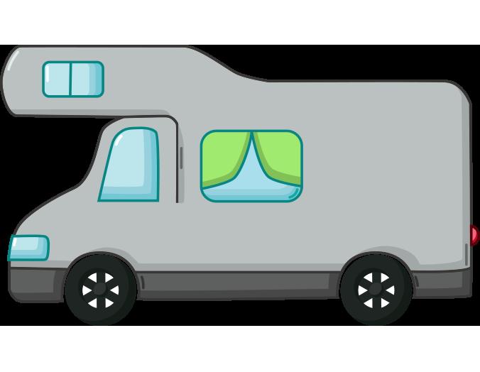 Gri karavan resmi png