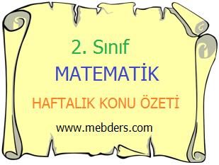 2. Sınıf Matematik Basamak Değeri Konu Özeti
