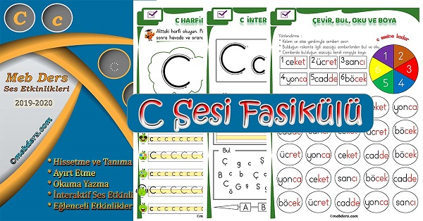 1.Sınıf İlkokuma C Sesi Fasikülü