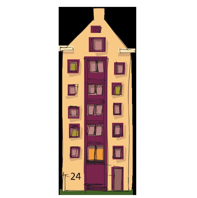 Karalama çizim apartman resmi png