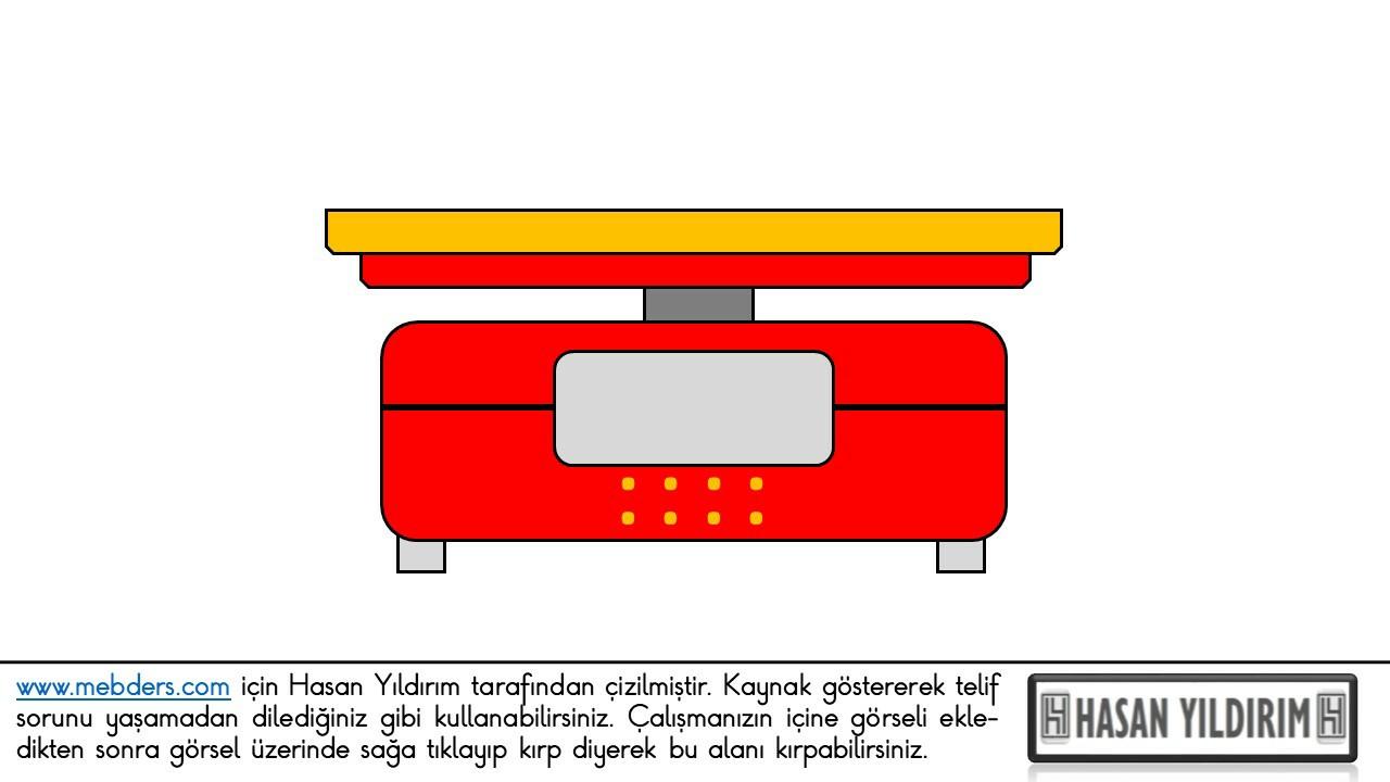 Elektronik Terazi PNG