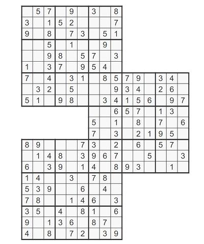 Üçlü Samurai Sudoku 2