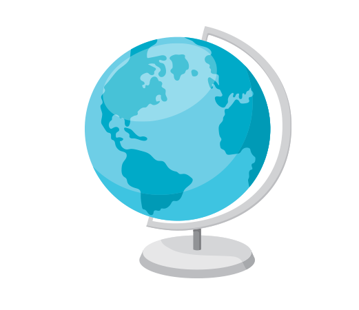 Dünya küresi resmi png