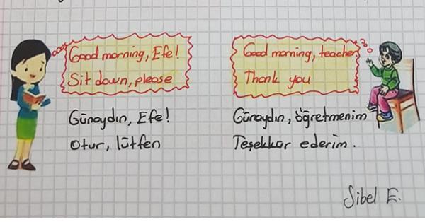 2.Sınıf İngilizce Unit 3 The Classroom Ders Notları