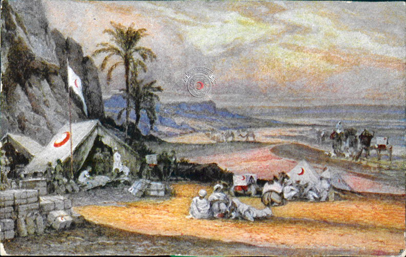 Tarihi kızılay kartpostalları