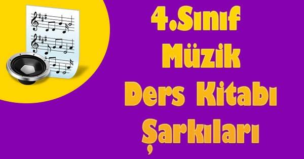 4.Sınıf Müzik Ders Kitabı Sesleri Tanısam Şarkısı mp3 dinle indir