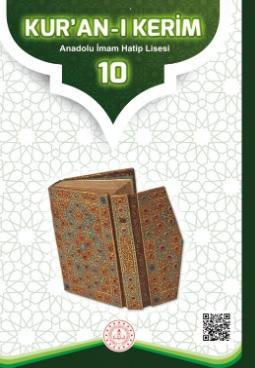 Anadolu İmam Hatip Lisesi 10.Sınıf Kuranı Kerim Ders Kitabı (MEB) pdf indir