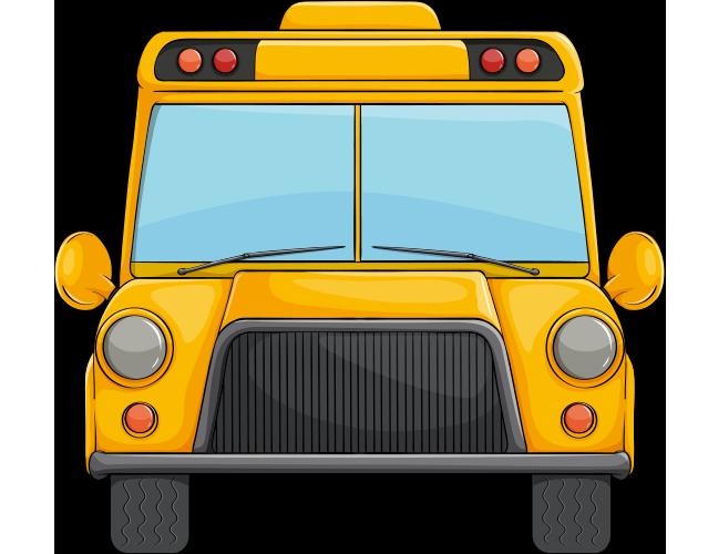 Önden çekilmiş otobüs resmi png