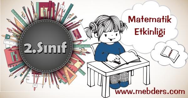 2.Sınıf Matematik Kesirler Kazanım Testi