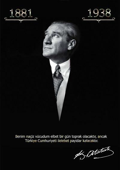 A3 boyutta Atatürk posteri