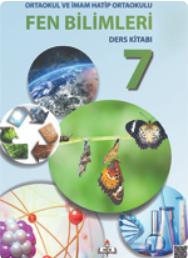 Açık Öğretim Ortaokulu Fen Bilimleri 7 Ders Kitabı pdf indir