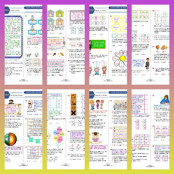 3. Sınıf Ocak Ayı Denemesi (PDF)