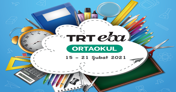 15 Şubat - 21 Şubat Arası EBA TV Ortaokul Yayın Akışı, Dersler, Konular