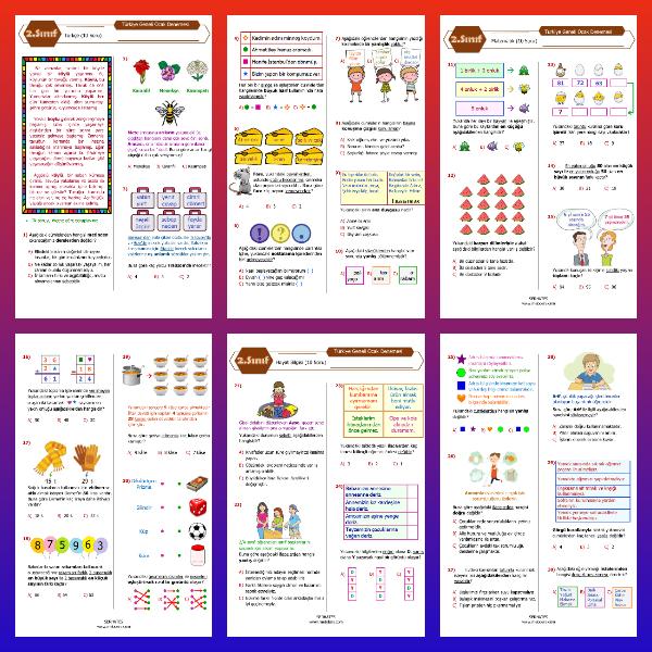 2. Sınıf Ocak Ayı Denemesi (PDF)