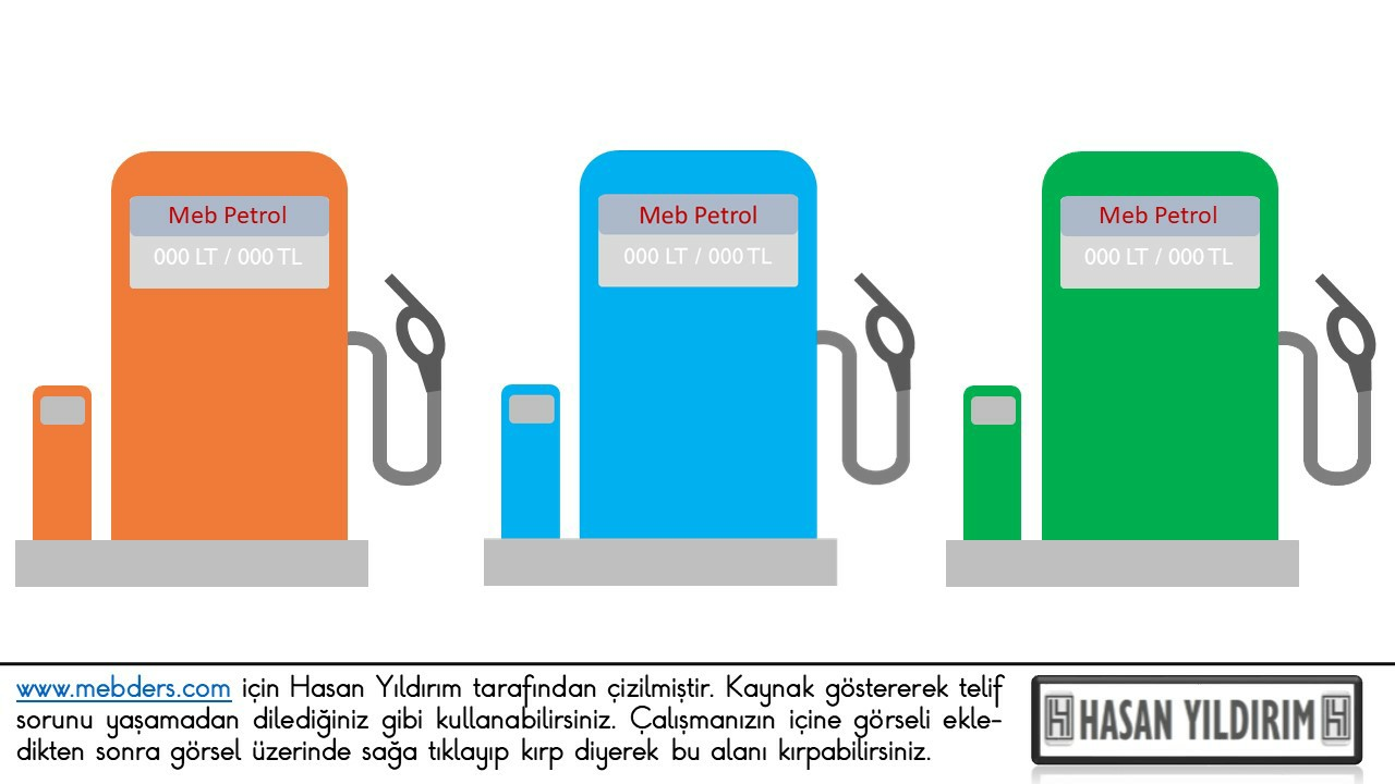 Petrol Pompası PNG