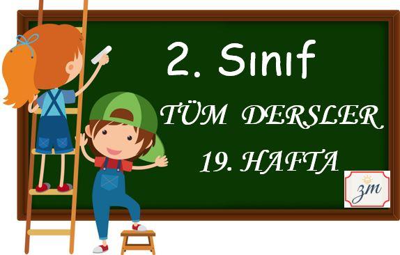 2. Sınıf 19. Hafta  Tüm Dersler Etkinliği (22-26 Şubat)