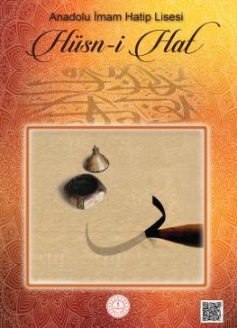 Anadolu İmam Hatip Lisesi 12.Sınıf Hüsni Hat Ders Kitabı (MEB) pdf indir