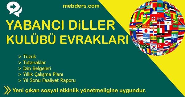 Yabancı Diller Kulübü Evrakları