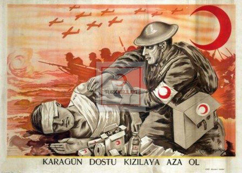 Tarihi kızılay afişleri
