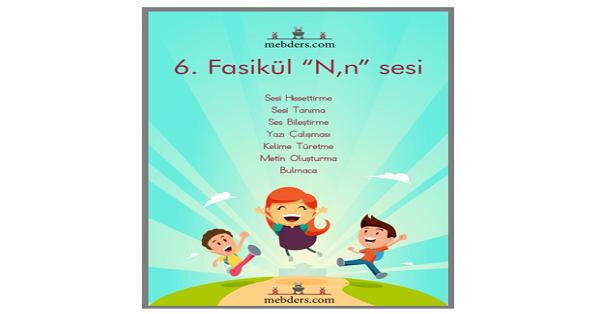 1.Sınıf İlk okuma N Sesi - Defter Dikte Etkinliği