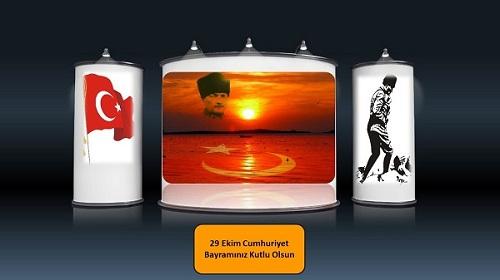 29 Ekim Cumhuriyet Bayramı Sesli Slaytı