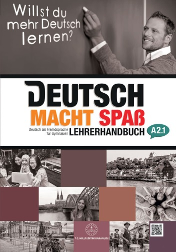 12.Sınıf Almanca A.2.1 Öğretmen Kitabı (MEB) pdf indir