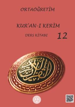 12.Sınıf Kuranı Kerim Ders Kitabı (MEB) pdf indir