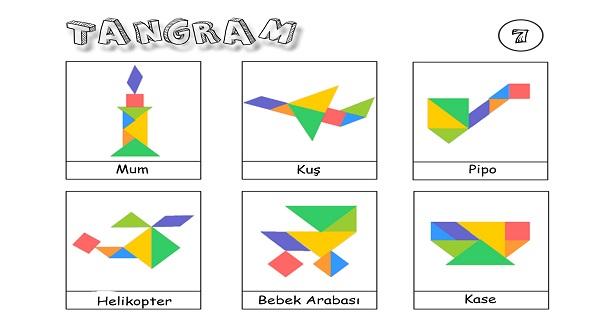 Tangram etkinliği 7
