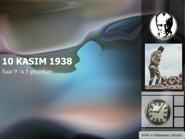 10 Kasım 1938 sesli slayt