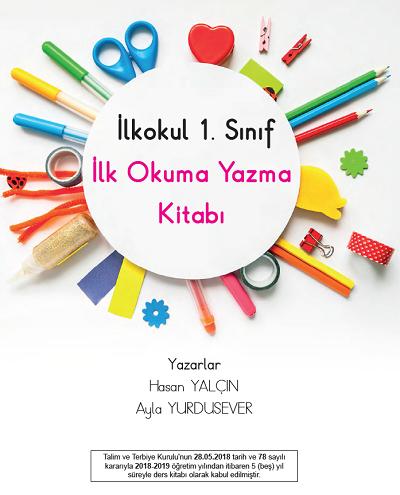 2018-2019 Yılı 1.Sınıf İlk Okuma Yazma Semih Yayınevi Ders Kitabı 1.Bölüm pdf
