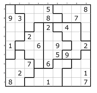 Parçalı Sudoku 5