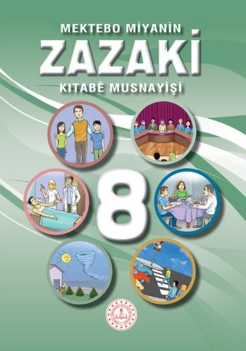 8.Sınıf Zazaki Ders Kitabı pdf indir