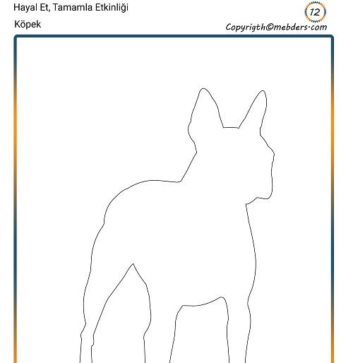 Hayal Et, Tamamla Etkinliği 12 - Köpek