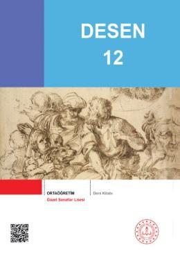 Güzel Sanatlar Lisesi 12.Sınıf Desen Ders Kitabı pdf indir