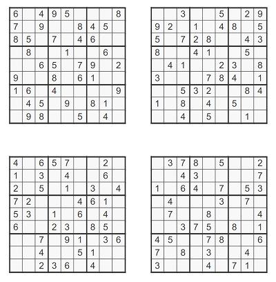 Orta Seviye Sudoku 8