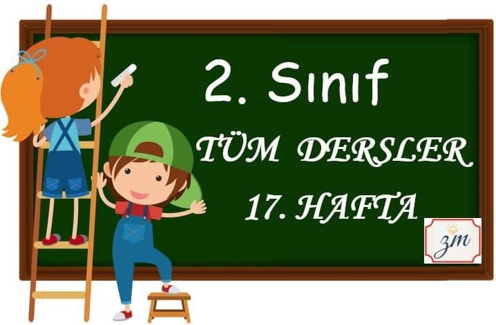2.Sınıf 17. Hafta Tüm Derslerin Etkinlikleri